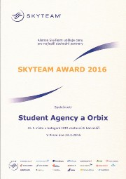 SkyTeam Award 2016